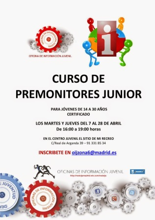 CURSO Premonitores junior - Abril