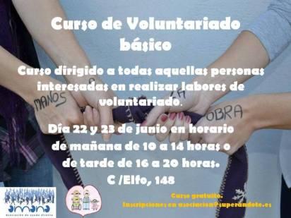 Cartel de Voluntariado básico